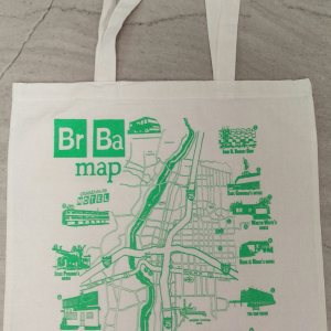 Breaking Map Tote