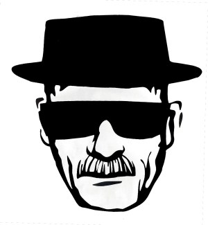 Heisenberg Decals Black