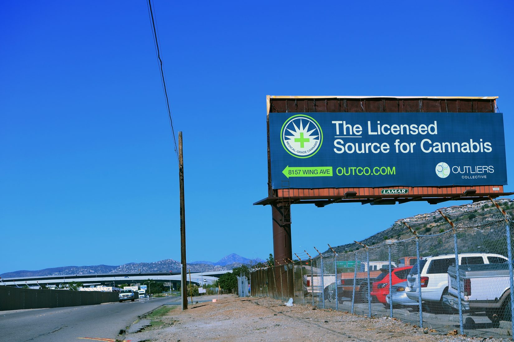 Image result for Cannabis Billboard