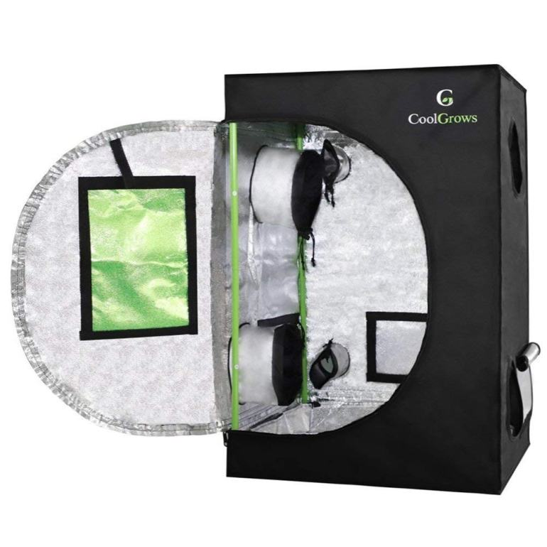 CoolGrows Mylar Hydroponic Grow Tent