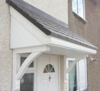 Lerwick GRP Door Canopy