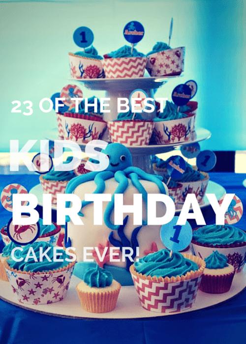 Best Kids Birthday Cakes Canvas Factory
