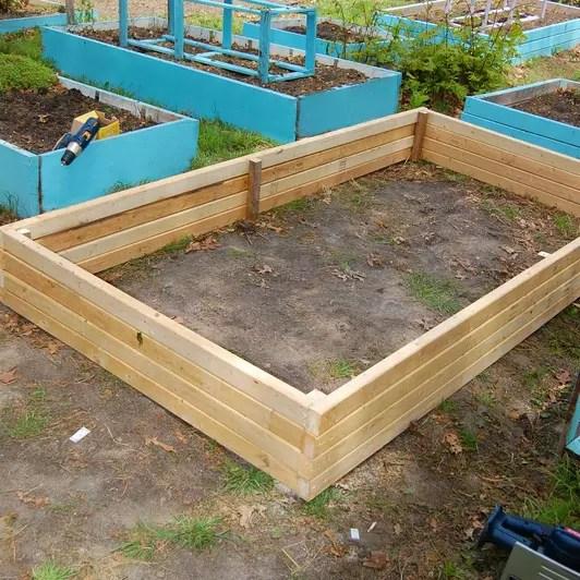 Super Easy Raised Garden Bed for under 30