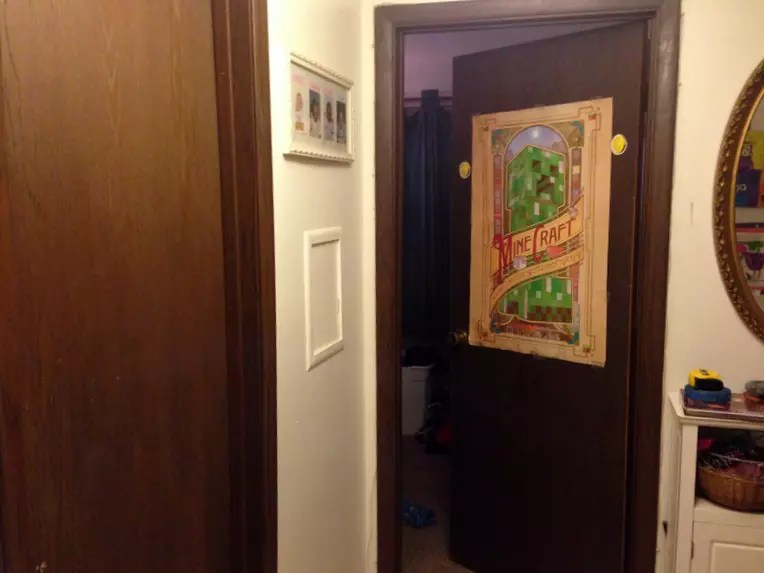 1970s Interior Door Makeover