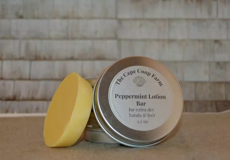 Peppermint Lotion Bar