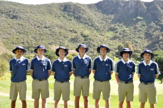 The Capistrano Valley Christian boys golf team has won the league sportsmanship award for two consecutive years. Photo: Courtesy