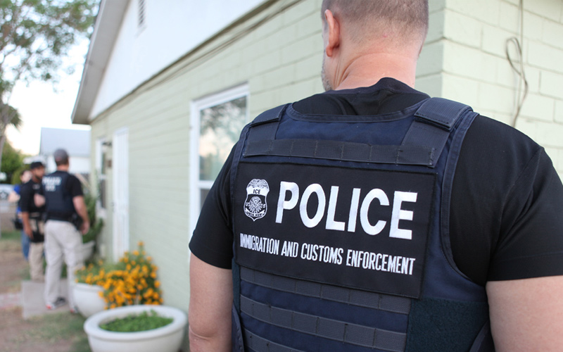 U.S. Immigrations and Customs Enforcement say they do not carry out raids or checkpoints for undocumented immigrants, but the community is still fearful. Photo: ICE/Wikimedia Commons