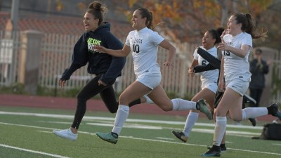 Isabella D'Aquila (10) was named the Gatorade National Player of the Year as she led the JSerra girls soccer team to back-to-back CIF-SS Division 1 championships. Photo: Jerry Soifer