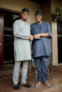 Dapo Abiodun with Otunba Gbenga Daniel