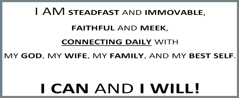 Steadfast and Immovable