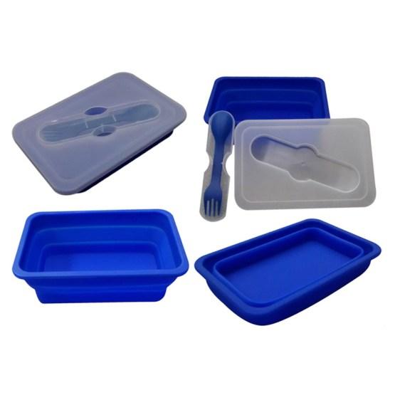 caravan accessories lunch box with spork