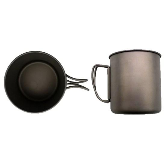 caravan accessories titanium mug