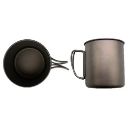 caravan accessories titanium mug