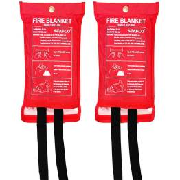 caravan accessories fire blanket