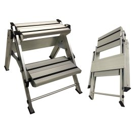 caravan accessories aluminium steps double