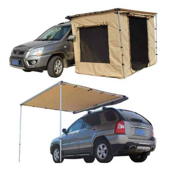 caravan accessories 4 x 4 pull out awning