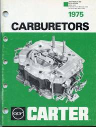 THE CARBURETOR SHOP / Literature for sale