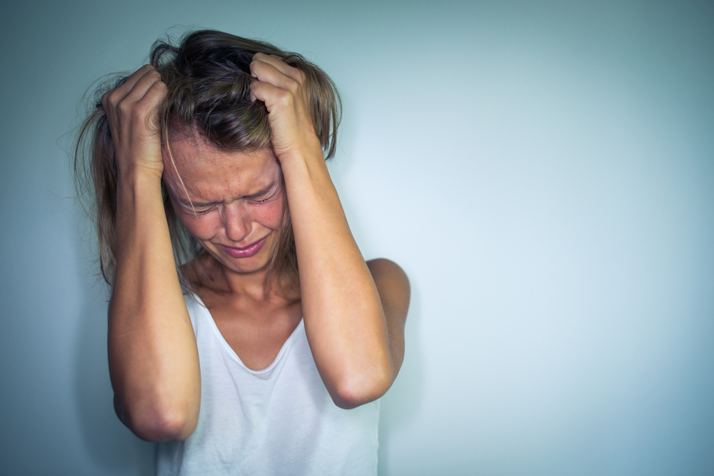 overwhelmed by caregiving frustration and anger