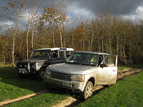Off-road vehicles go green laning