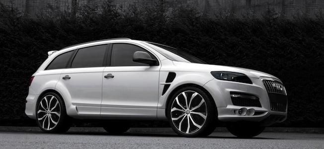 Audi Q7 wearing custom aluminium wheels and bodykit (The Car Expert)