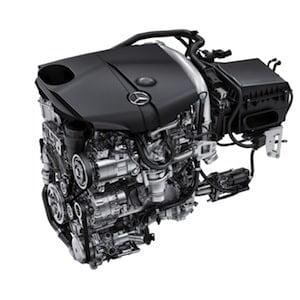 Mercedes-Benz diesel engine
