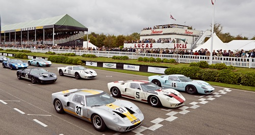 Ford GT40 race at the Goodwood Revival