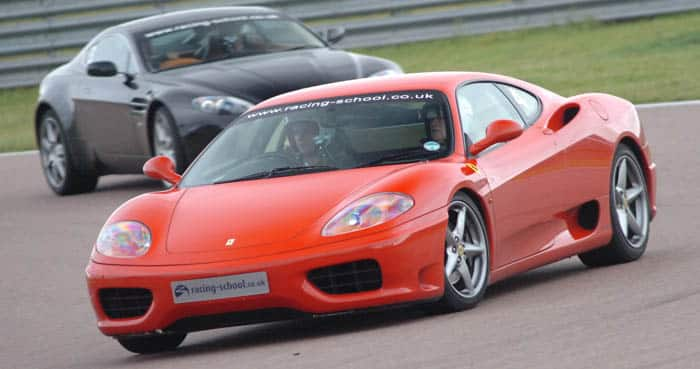Supercar driving experience at Brands Hatch - Ferrari 360 and Aston Martin Vantage