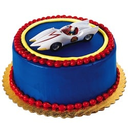 The Car Expert birthday car - Speed Racer