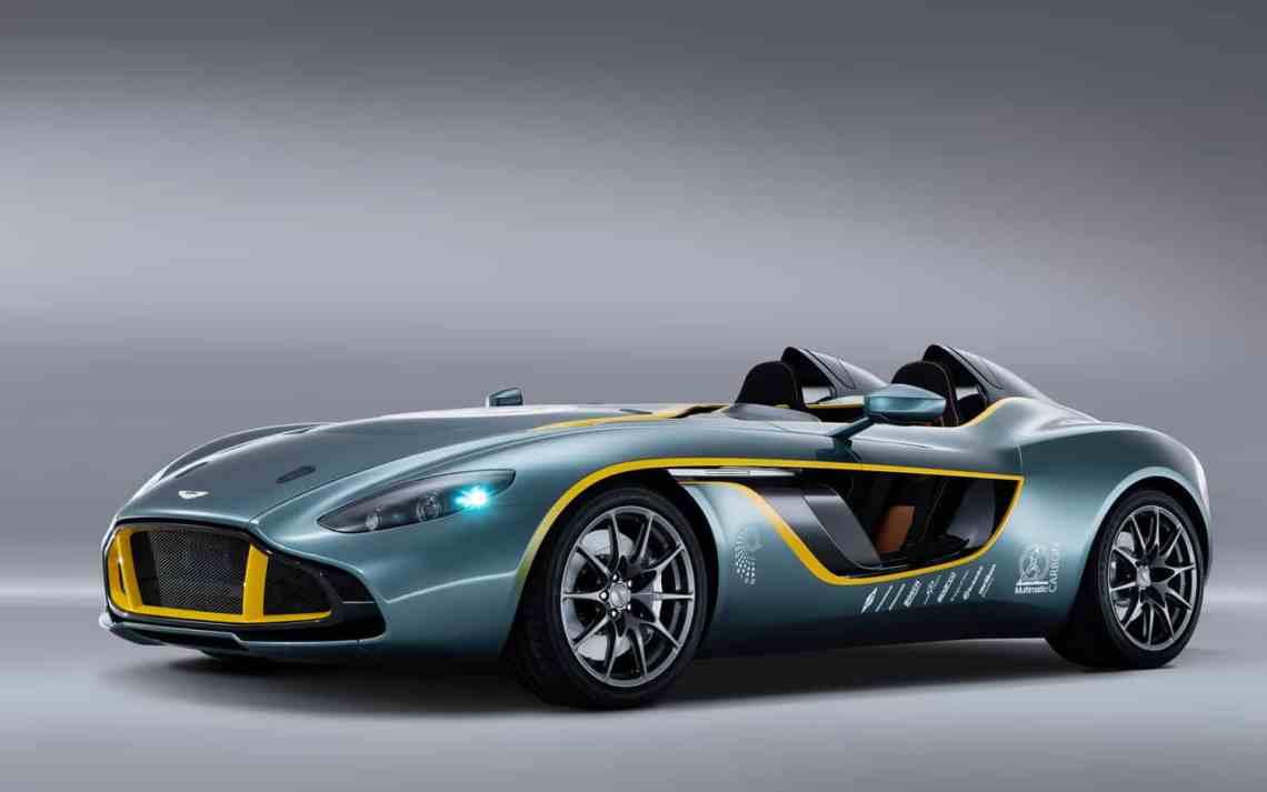 Aston Martin CC100 Speedster concept car