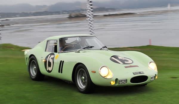 The Ferrari 250 GTO is probably the definitive classic car