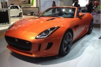The Jaguar F-type is a highly successful new British car