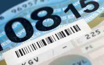 Road tax disc DVLA UK