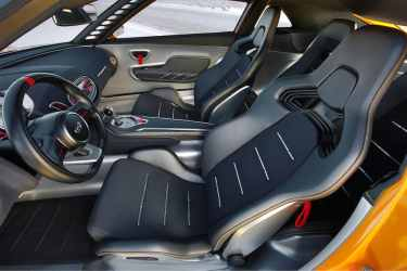 Kia GT4 Stinger concept car 04 interior (The Car Expert, 2014)