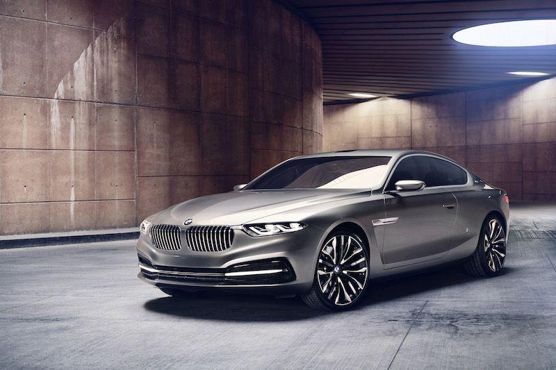 BMW Gran Lusso concept by Pininfarina