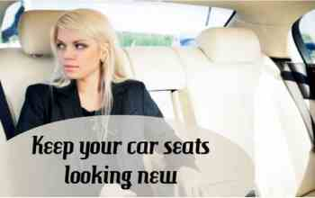 Keep your car seats looking new