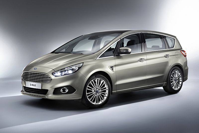 The new Ford S-Max