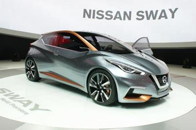 Nissan Sway concept, 2015 Geneva Motor Show