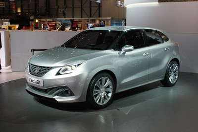 Suzuki i-K2 concept, Geneva Motor Show 2015