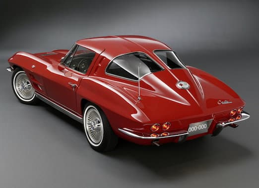 The super-sexy 1963 split-window Chevrolet Corvette
