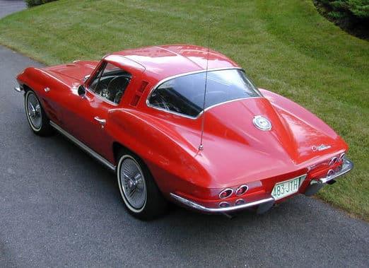 Still sexy: the 1964 Chevrolet Corvette