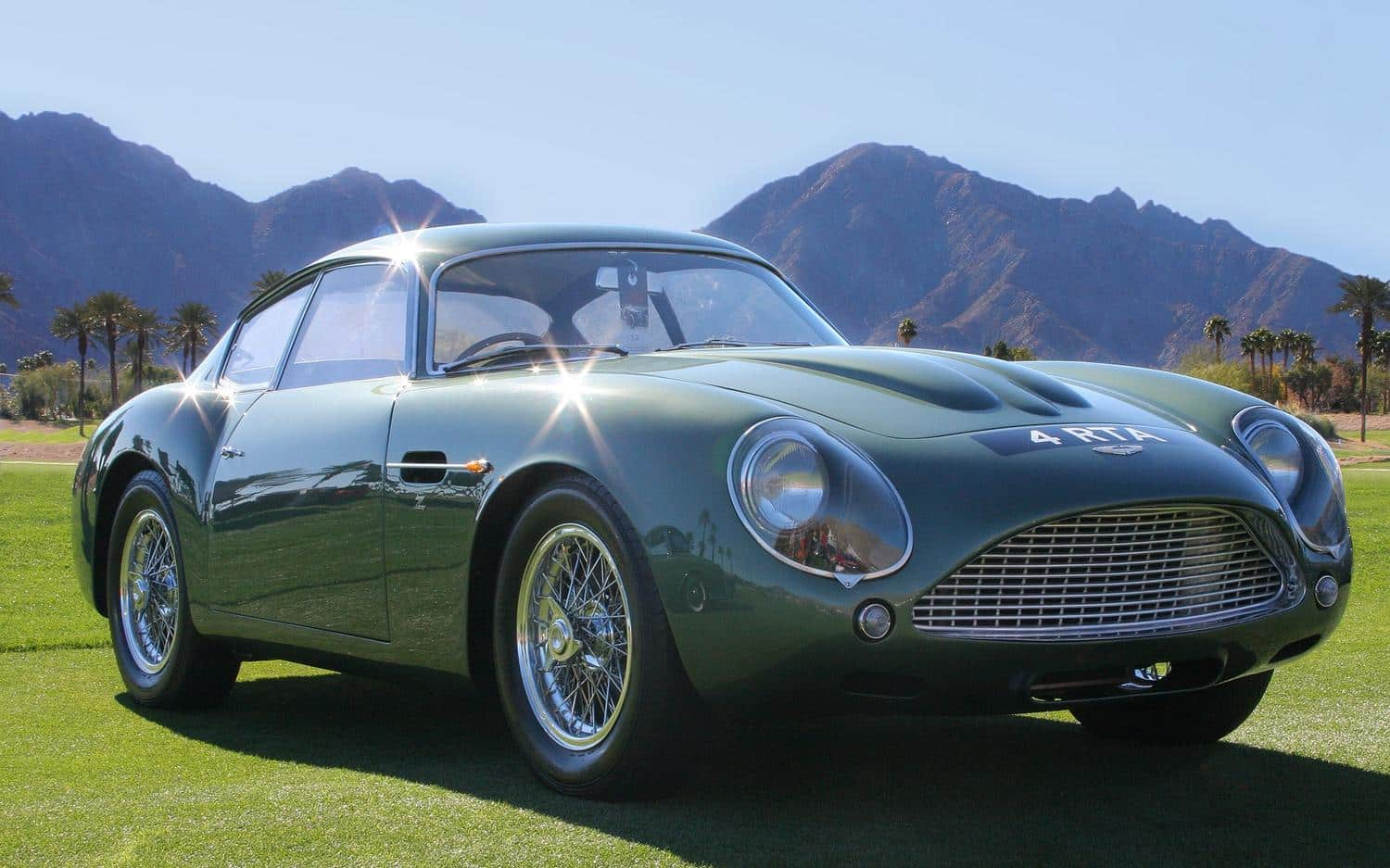 Aston Martin DB4 GT Zagato - definitely a sexy sixties sports car