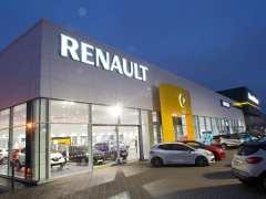 Renault dealership amid sales slowdown