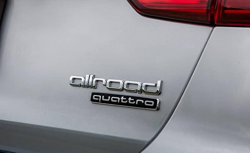 Audi allroad quattro badge