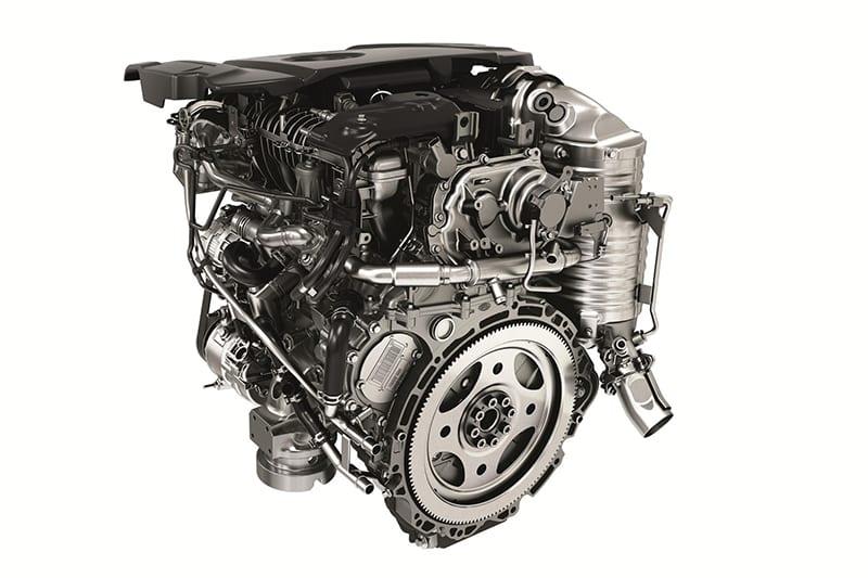 JLR Ingenium diesel engine