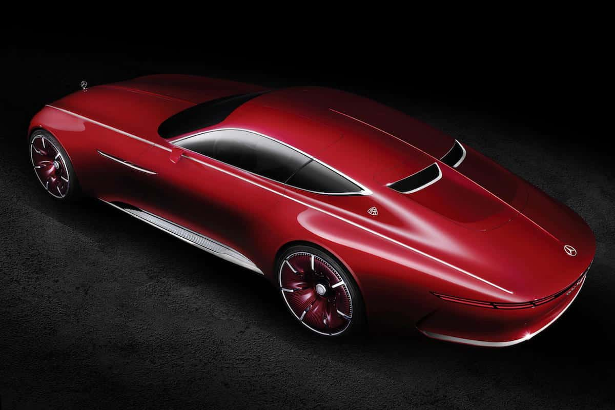 Vision Mercedes-Maybach 6 coupé 06