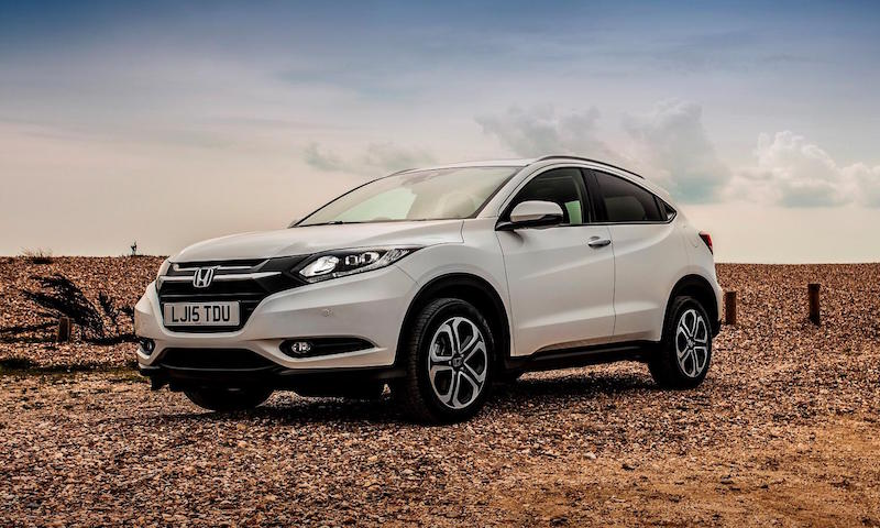 Honda HR-V faux-by-four
