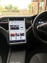 Tesla Model S touchscreen