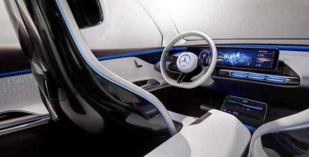 Mercedes-Benz Generation EQ, Paris Motor Show 2016, interior dashboard