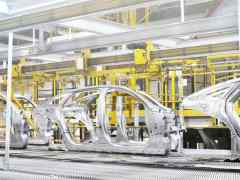 Jaguar Cars production line - Castle Bromwich