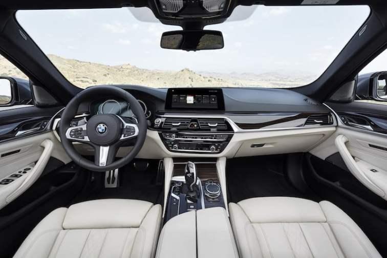 New BMW 5 Series saloon 05